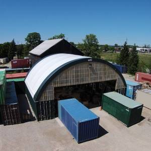 Fabric Structure Storage Building