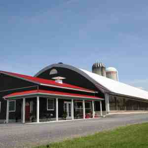 Dairy Barn and Milking Parlor