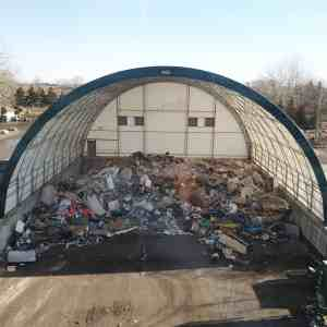 TRY Recycling Waste Storage Fabric Building