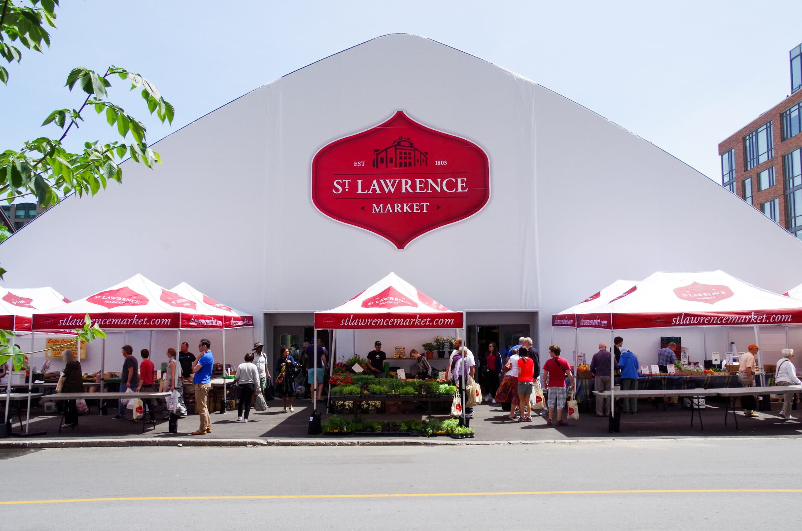 Fabric Building Event Structures for retail space
