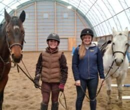 Indoor Riding Arenas and Horse Barns, Britespan Fabric Buildings and Barns