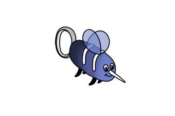 Mosquito Britez Dental - Mascota infantil