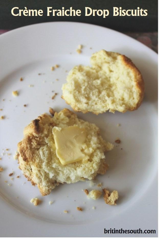 Creme fraiche drop biscuits from britinthesouth.com