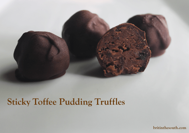 Sticky toffee pudding truffles from britinthesouth.com