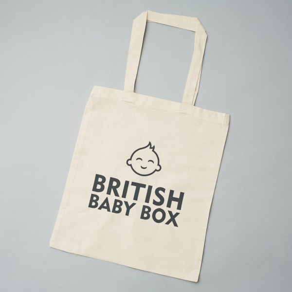 British Baby Box Natural Shopper bag