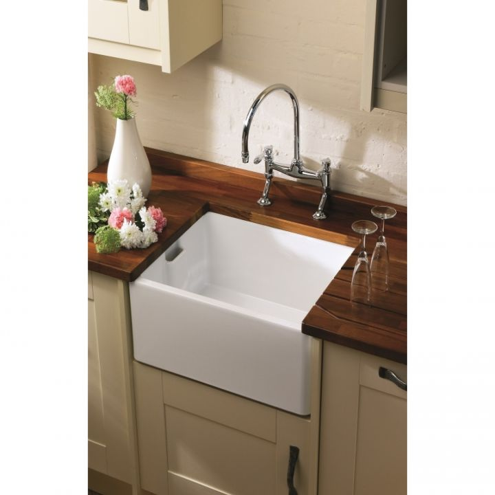 shaws of darwen classic deep belfast sink 24 inch