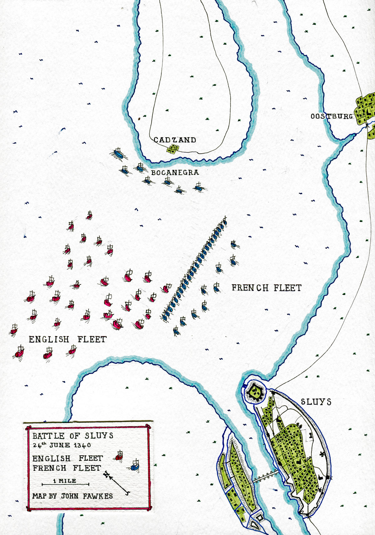 Battle Of Sluys