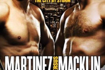 Sergio Martinez vs Matthew Macklin boxing fight poster HBO