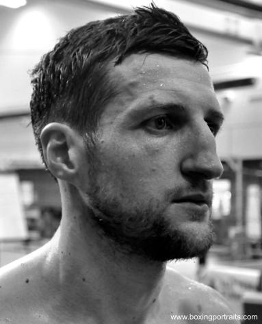 carl froch boxing portraits