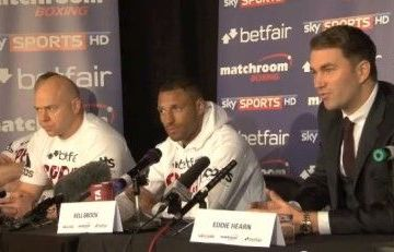 kell brook press conference devon