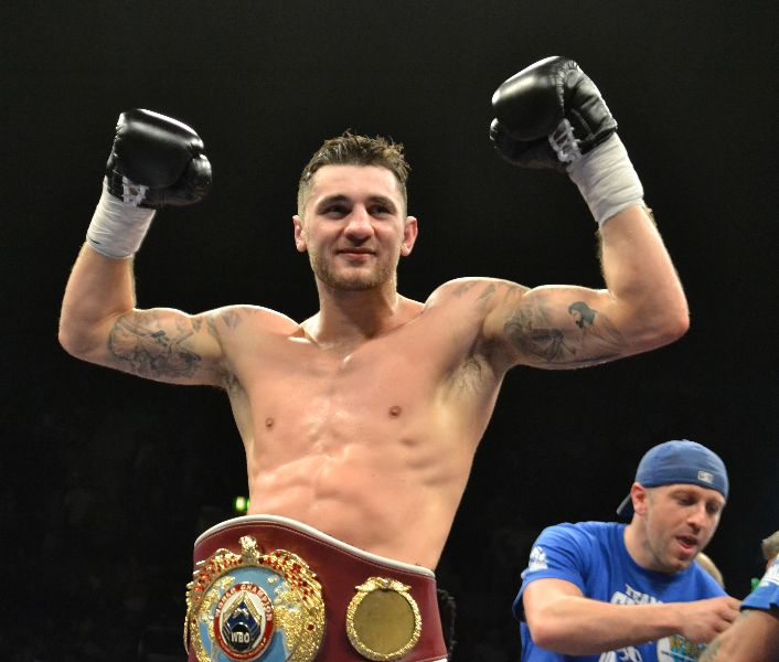 Nathan Cleverly after Robin Kraniqi win