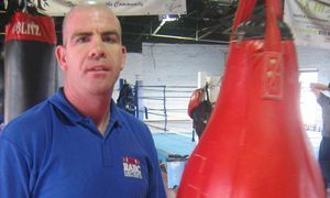 Mark reynolds Rawthorpe Boxing Club