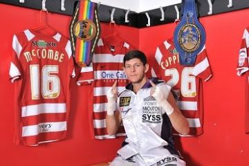 Jamie McDonnell V Julio Ceya IBF Vacant World Title Saturday 11th May 2013Doncaster Rovers Keepmoat Stadium