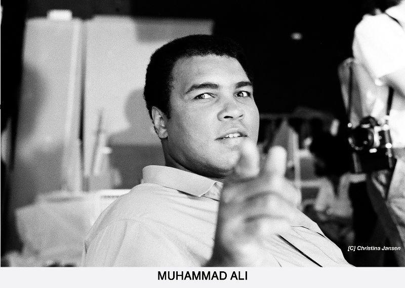 Muhammad Ali by Christina Jansen