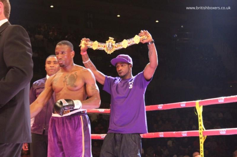 Darren Hamilton british champion