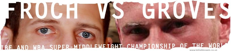froch v groves fight head to head