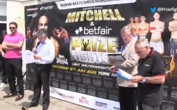 prizefighter weigh in jusy 2013