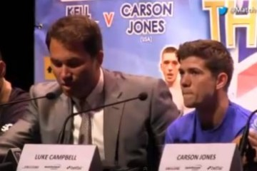 the homecoming luke campbell press conference video