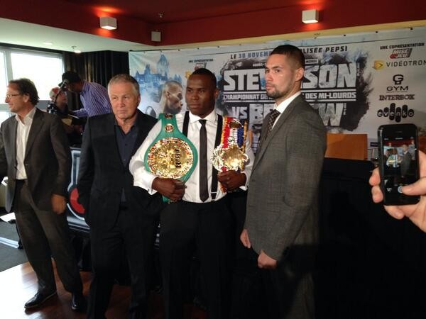 bellew signs to face stevenson in canada