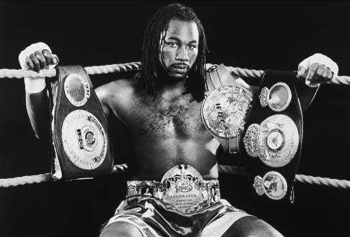 lennox lewis sweet science