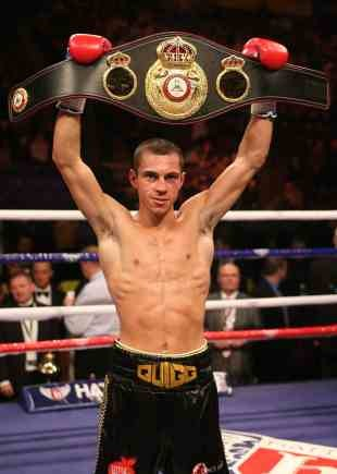 Scott Quigg - WBA world super-bantamweight champion