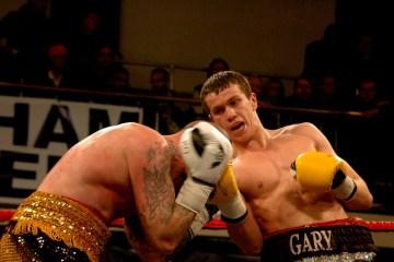 Gary Corcoran Seawright boxing