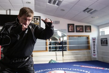 ricky hatton trainer