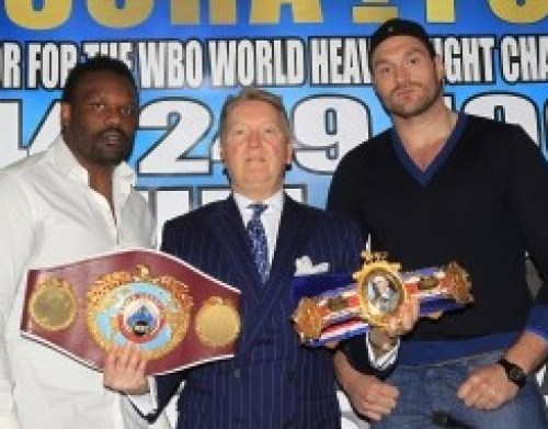 fury warren chisora