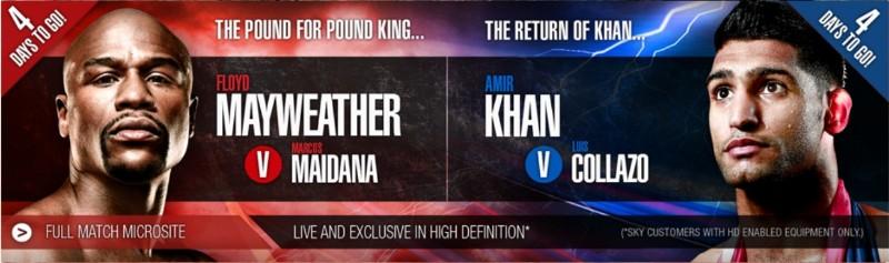 khan mayweather las vegas boxnation