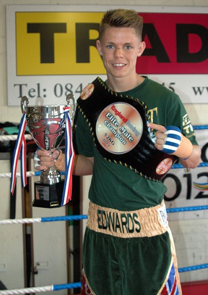 Charlie Edwards boxing