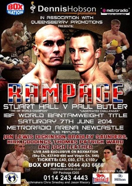 Hall v Butler poster