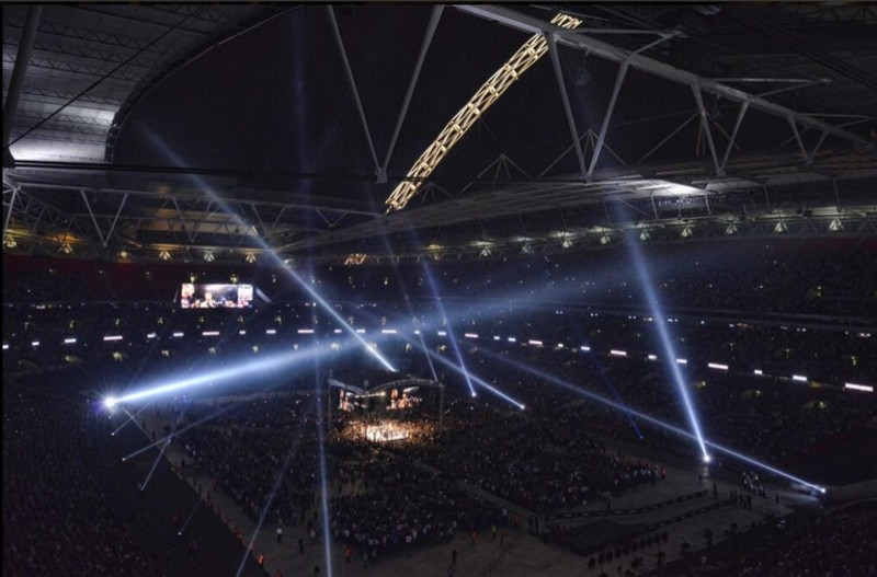 wembley boxing pic