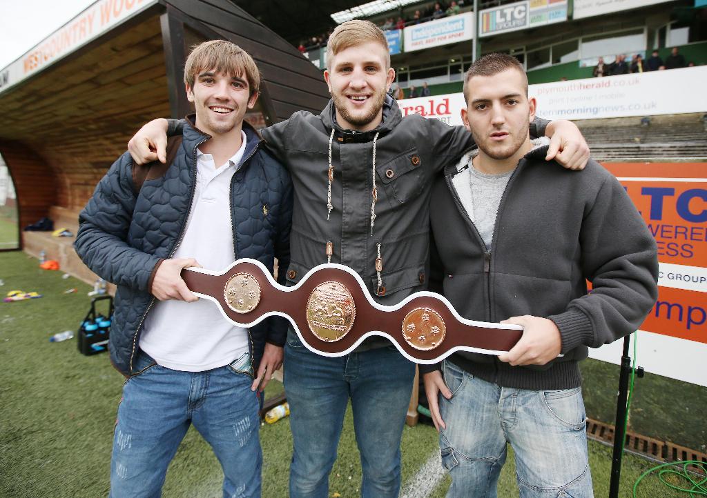 Adaway, Richards, Gomez- PAFC