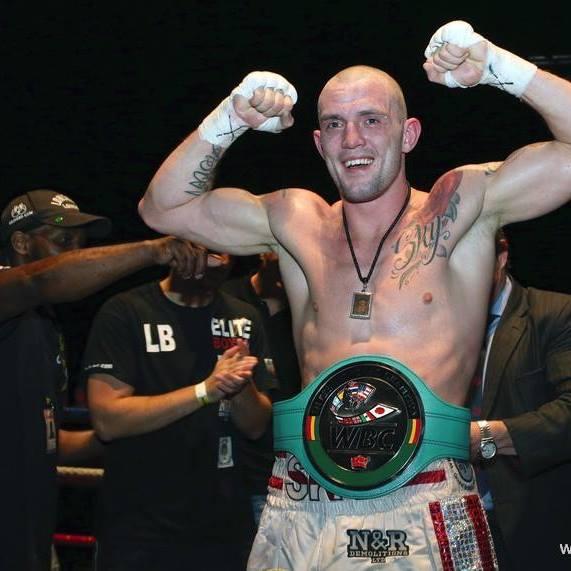 Luke blackledge WBC Silver