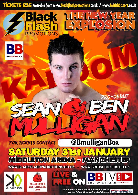 Sean Ben Mulligan Fight Poster debut