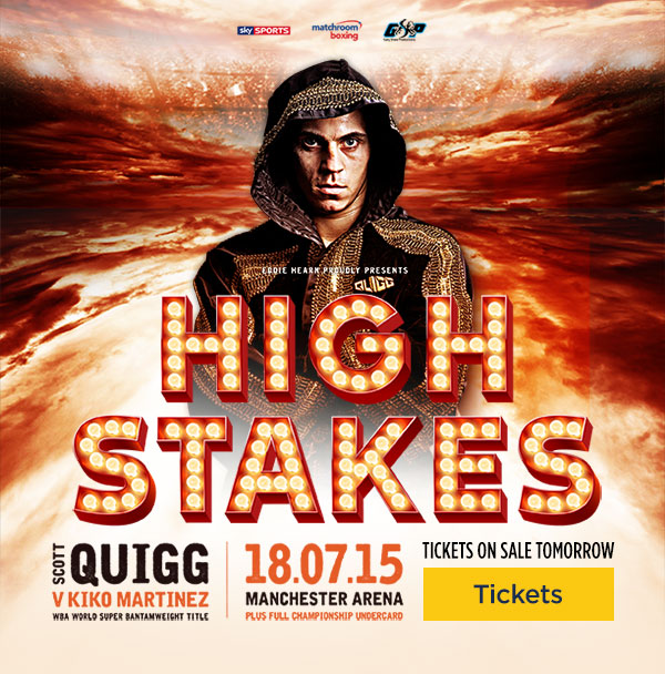 quigg tickets high stakes