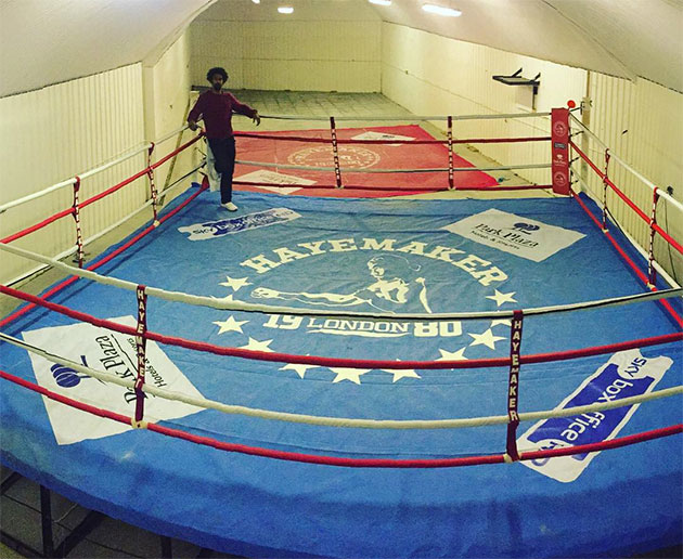 David-Haye-Boxing-Ring-For-Sale