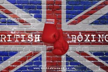 BRITISH BOXING FLAG GLOVES