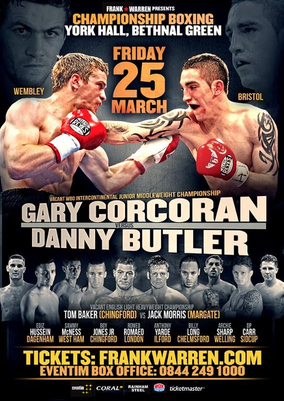 corcoran vs butler baker vmorris poster march 25