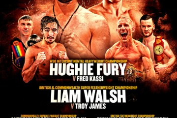 Hughie fury fight coper box london