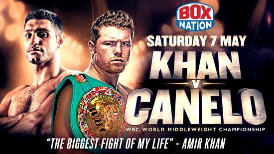 Khan-v-Canelo watch on boxnation