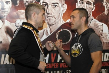 liam smith world title defence liverpool