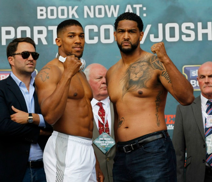Joshua-Breazeale Tale Of The Tape And O2 Fight Running