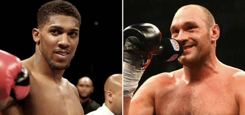 tyson fury-anthony joshua