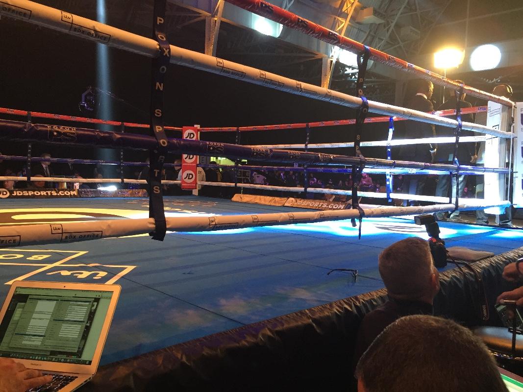 olympia boxing ring