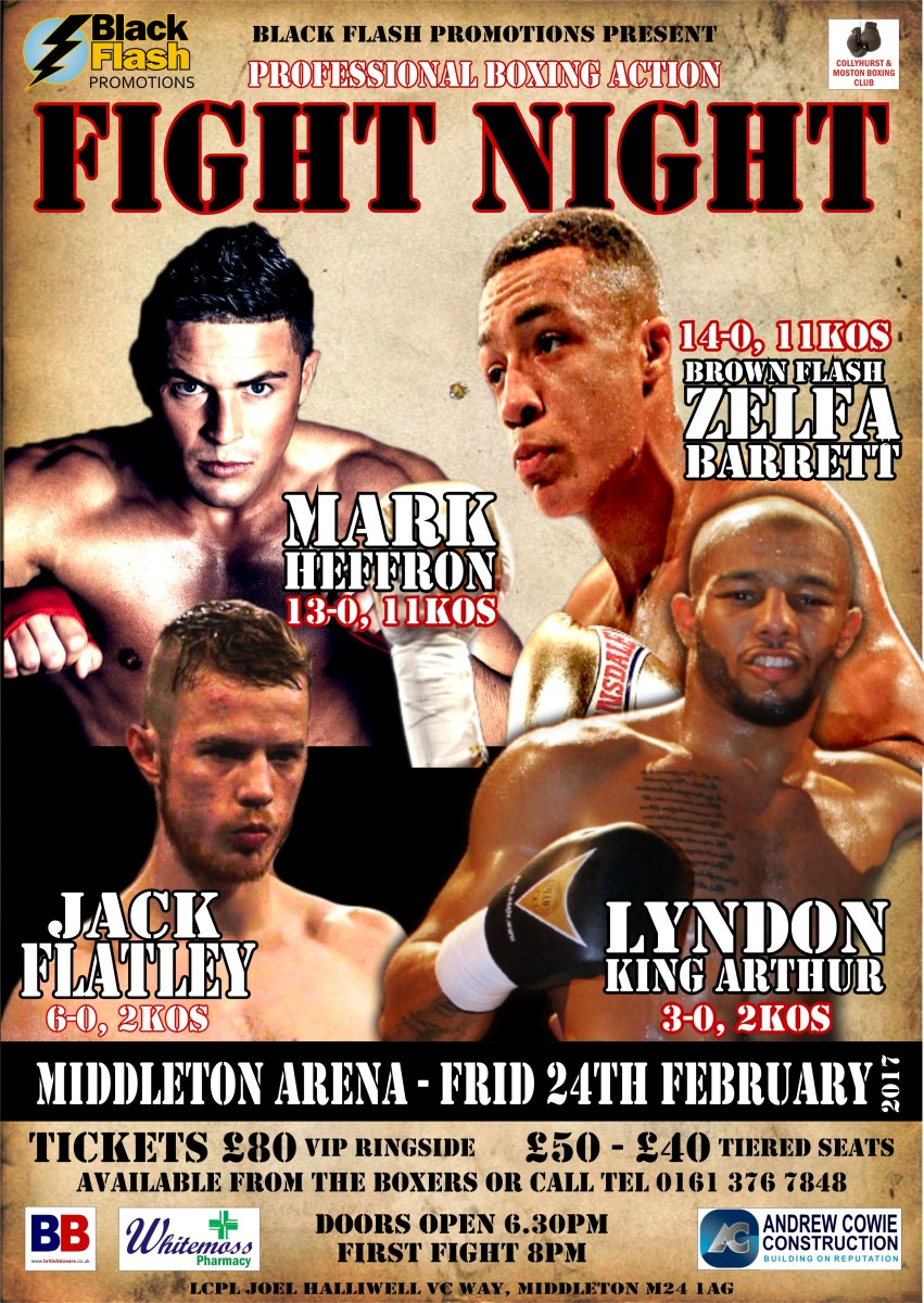 BBTV LIVE FREE BOXING: Barrett, Heffron, Arthur and Flatley feature on Friday Fight Night