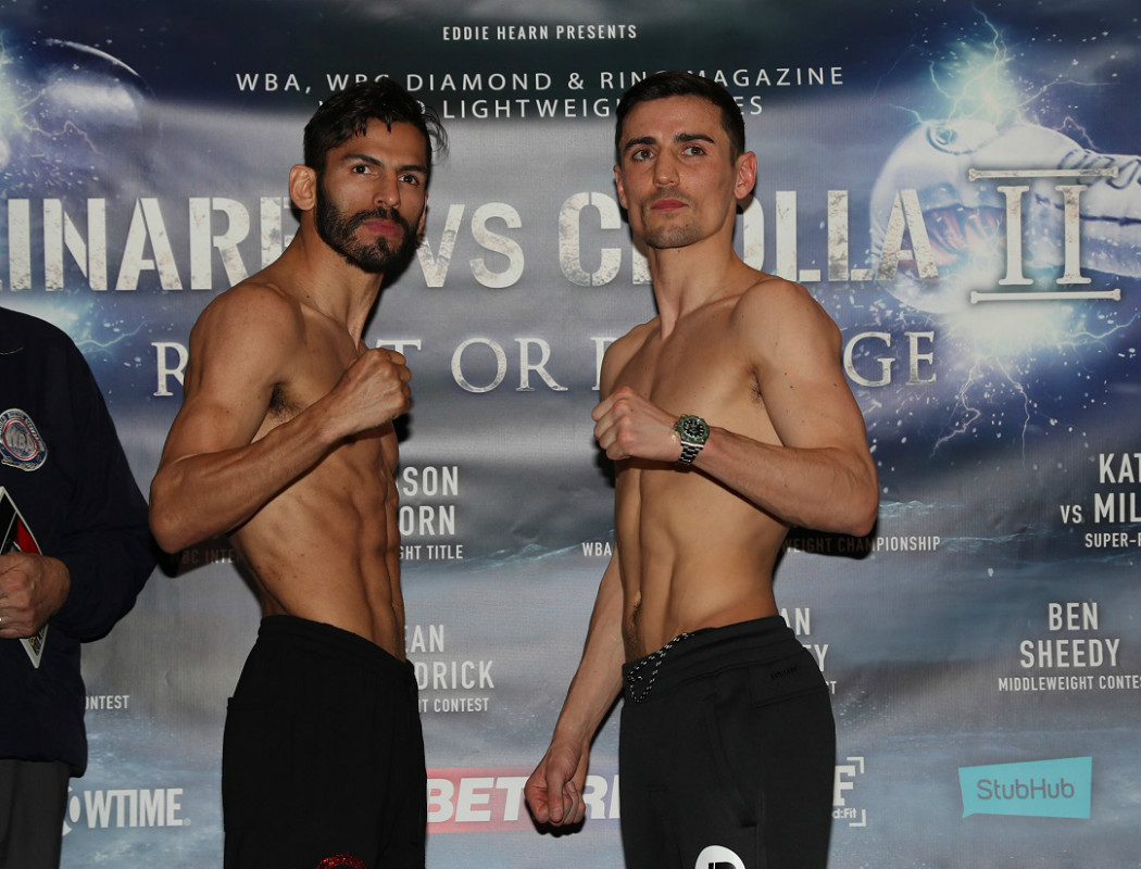 Crolla-Linares II - Fight Night Running Order and Times