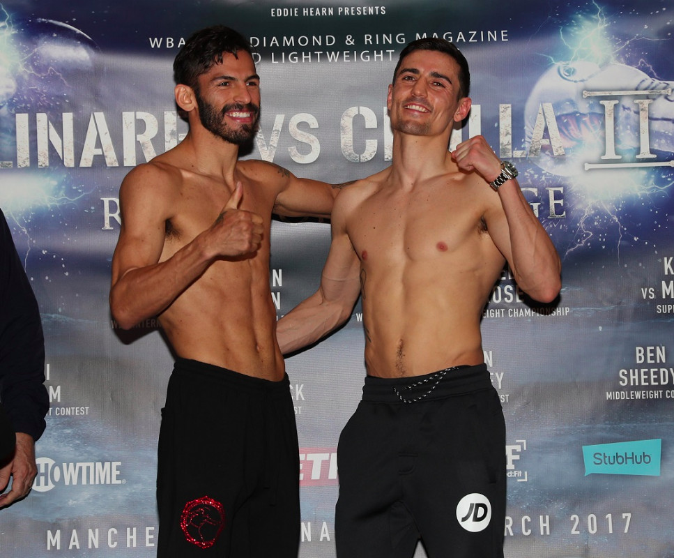 Manchester Main Event: Jorge Linares and Anthony Crolla fight result