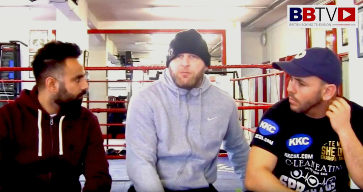 "VIDEO: Heavyweight Lee Carter: ""I ain't going out like that!"""