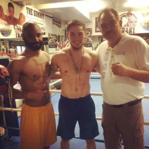Ben Hall with Carson Jones and Abel Sanchez
